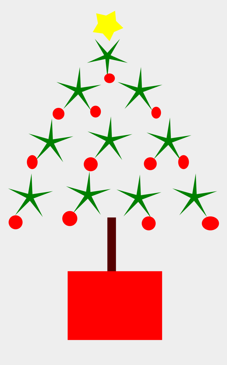 christmas tree clipart, Cartoons - Clip Art Christmas Tree Drawing 2 Coloring Book - Line Drawings Christmas Tree