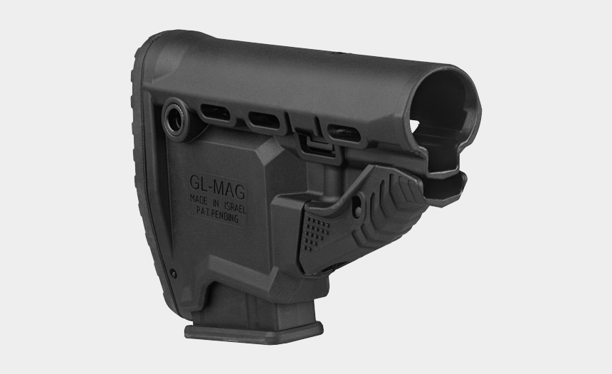 jimenez arms 9mm extended clip, Cartoons - Fab Defence Gl-mag M4 Κοντάκιο Επιβίωσης Με Ενσωματωμένη - Ar 15 Stock That Holds A Magazine