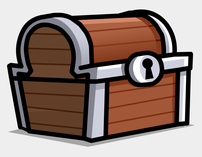 treasure chest clip art, Cartoons - Cartoon Treasure Chest Transparent