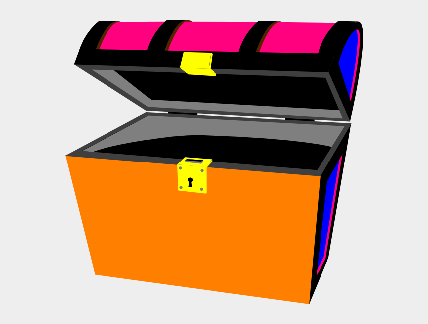treasure chest clip art, Cartoons - Clipart Of Open, Clipart Open And Empty Treasure Chest