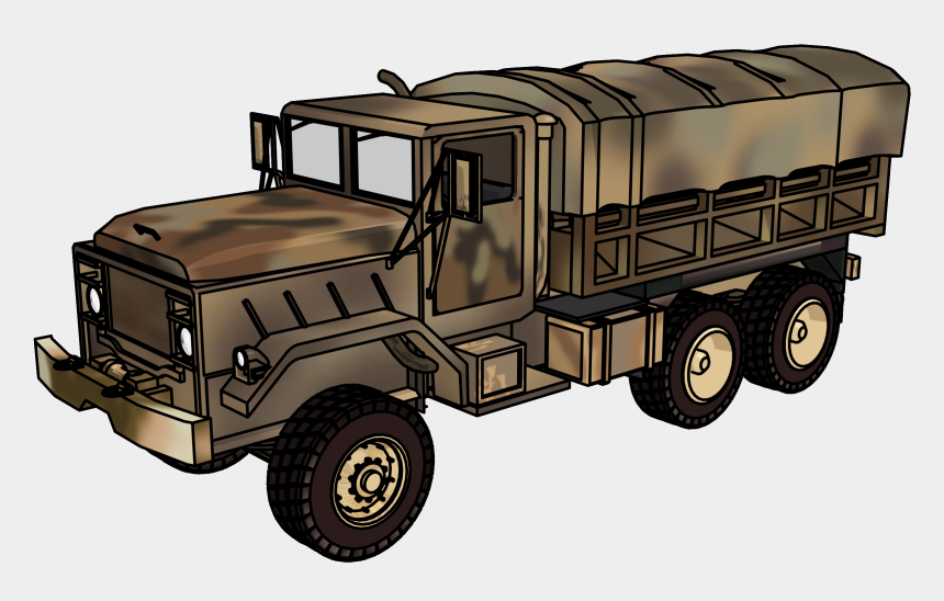 M923 Military Truck Clipart Png Picture - Military Vehicle