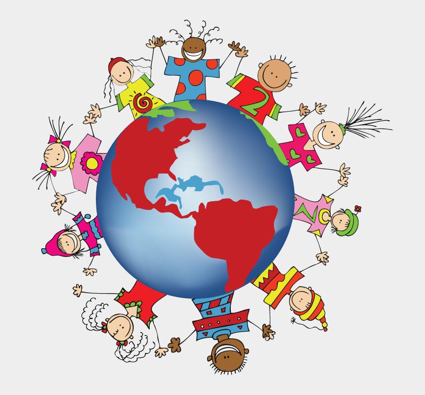 world clip art, Cartoons - World Clip Art Globe - All Around The World Clipart