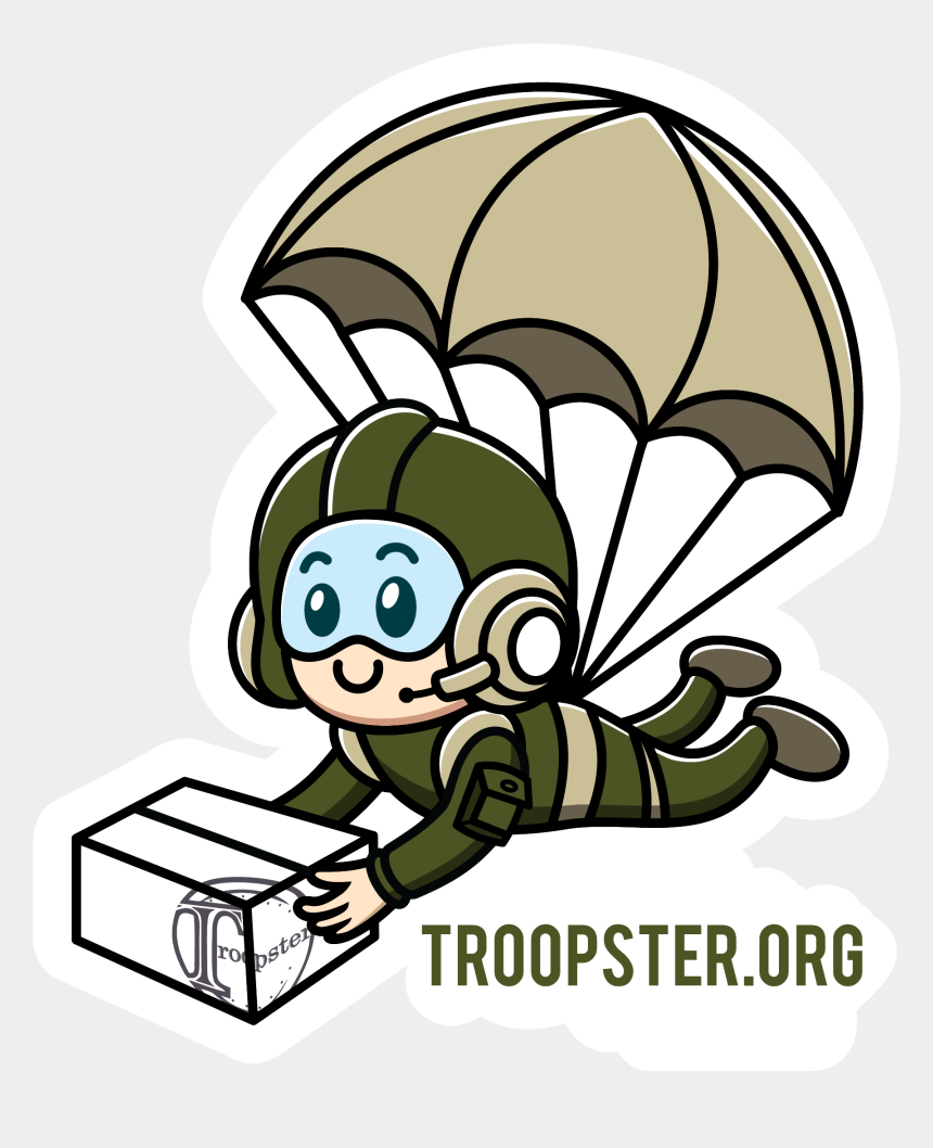 military clip art, Cartoons - About Troopster Us Ⓒ - Military Care Package Clipart