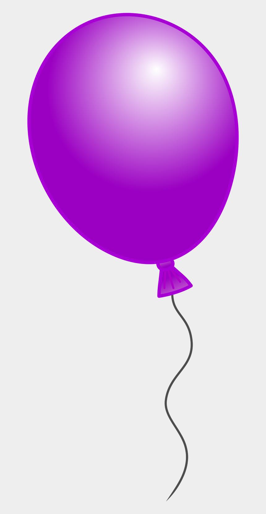 birthday balloons clip art, Cartoons - Balloon Clipart Number - Single Balloon Clipart Png