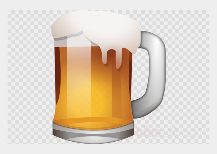 Beer Emojis Clipart Beer Glasses Emoji , Png Download