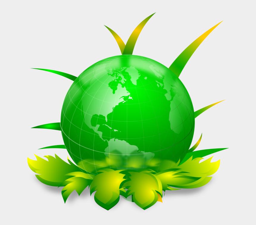 world clip art, Cartoons - Earth World Globe - Save Earth Go Green Png