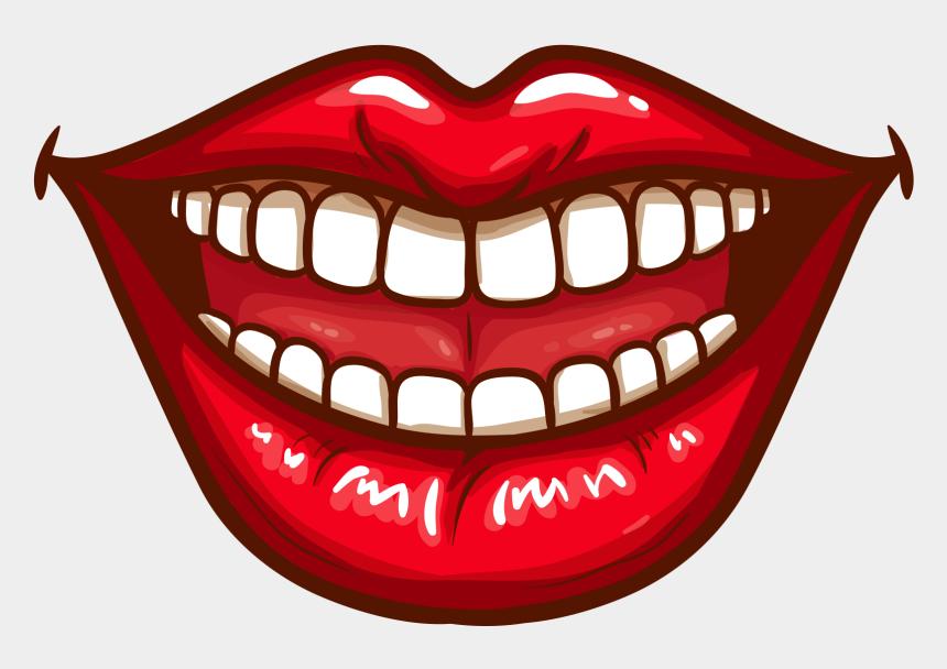 mouth clip art, Cartoons - Smile Lips Drawing Pop Art