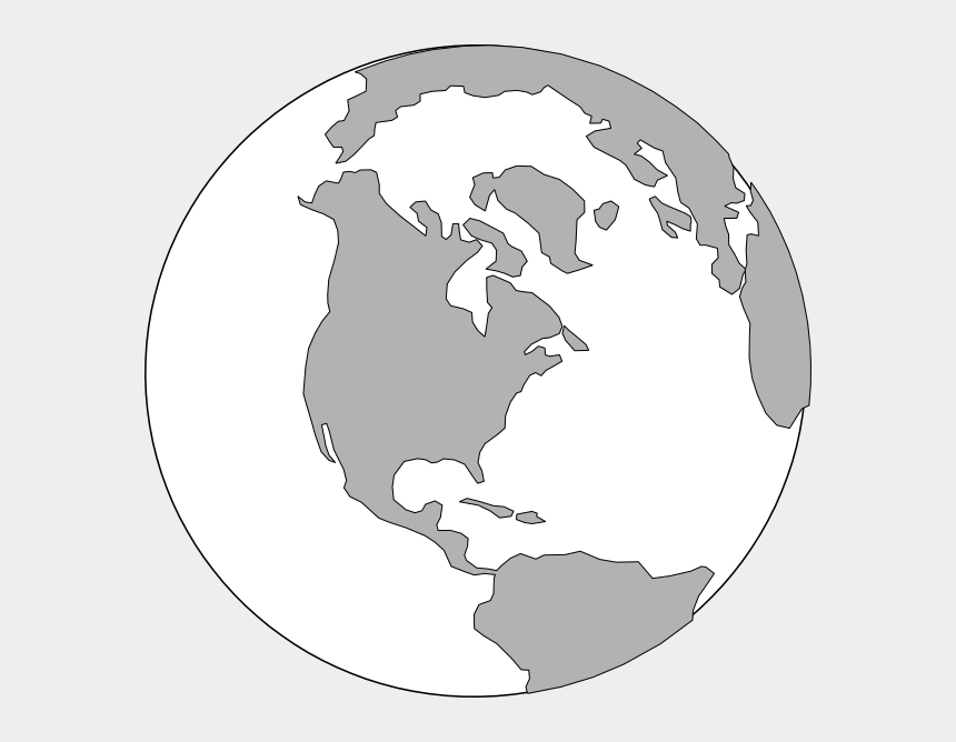 world clip art, Cartoons - This Free Clip Arts Design Of World Grey Logo - Continent Clipart