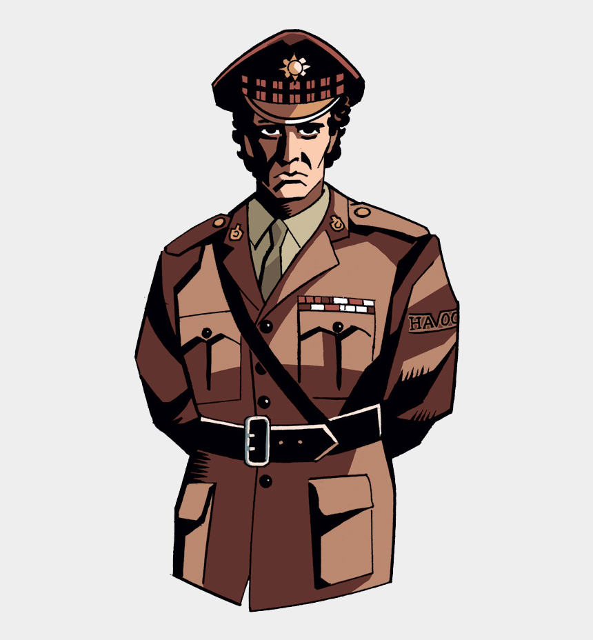 military clip art, Cartoons - Soldiers Clipart Colonel ~ Frames ~ Illustrations ~ - Military Uniform