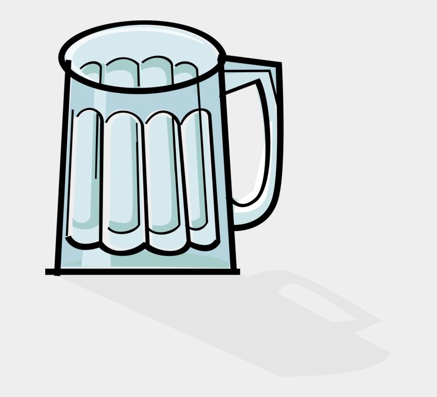 beer mug clipart, Cartoons - Empty Beer Glass Png