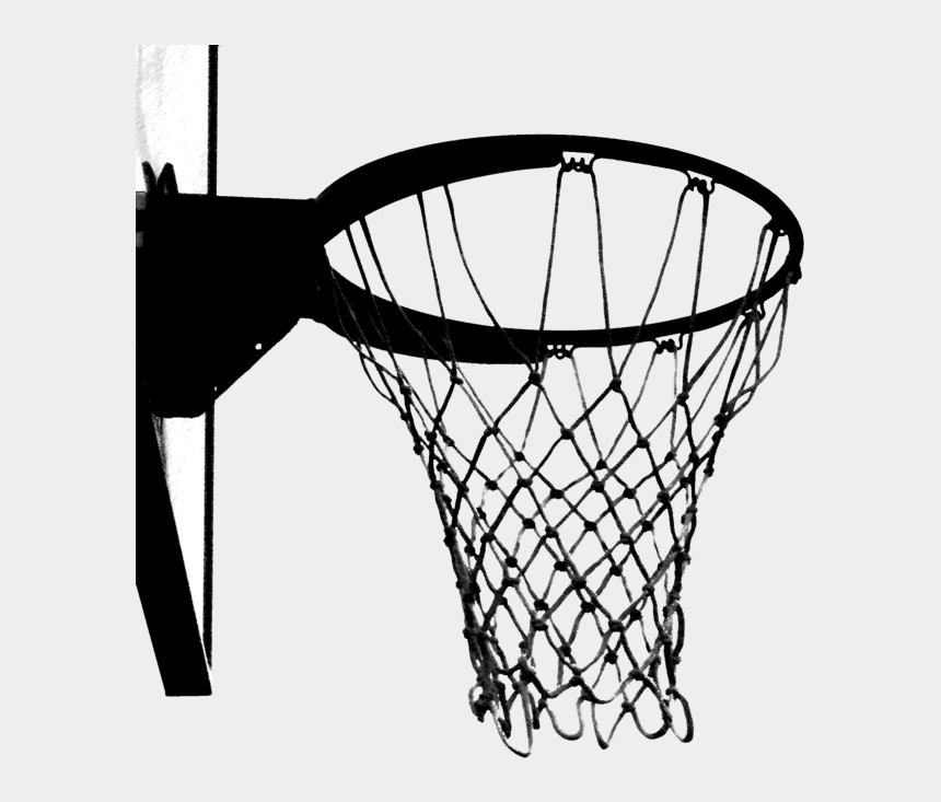 basketball hoop clipart black and white, Cartoons - Black And White Basketball Hoop - Basketball Hoop Clipart Transparent