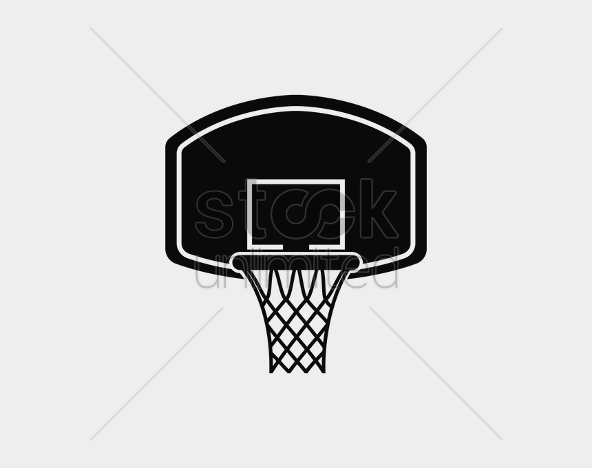 Basketball Hoop Vector Graphi - Basketball Hoop Vector