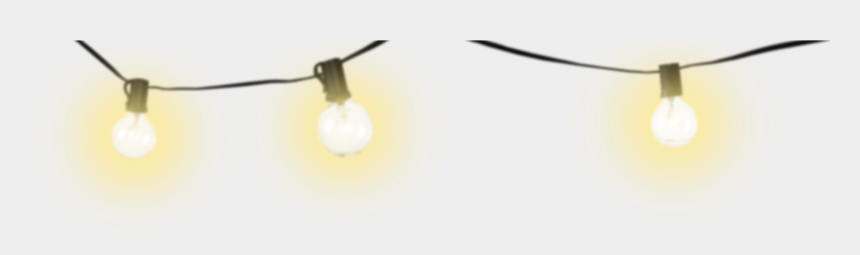 christmas light clipart, Cartoons - Christmas Lights Clipart Light Bulb - String Lights Clipart Transparent Background