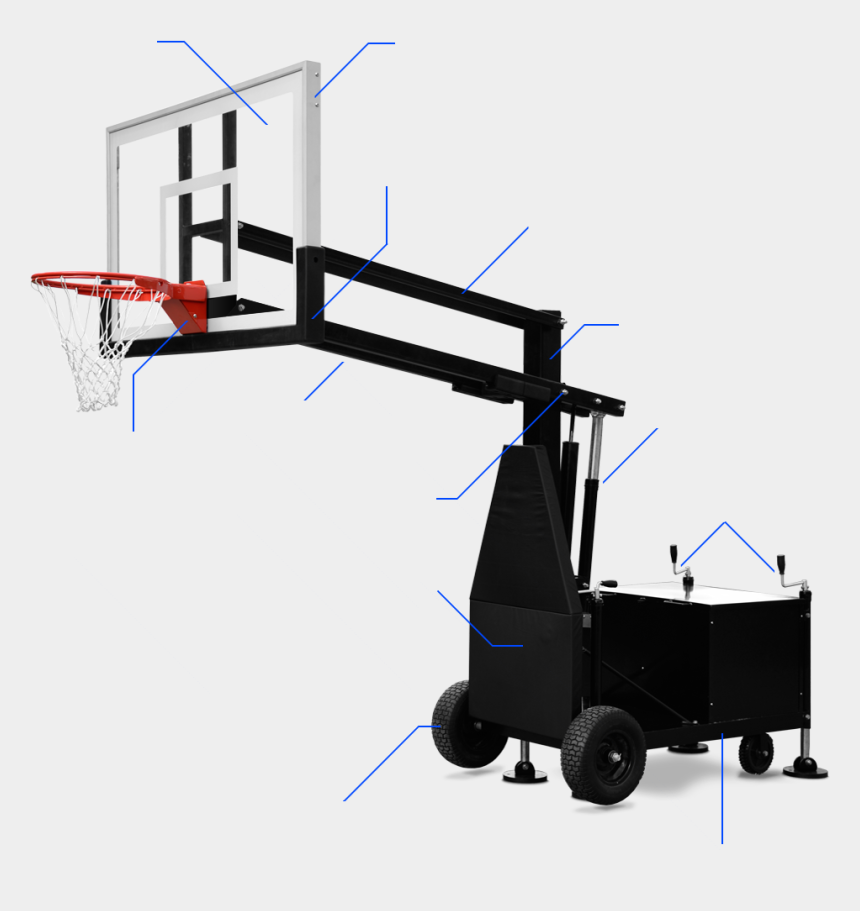 basketball hoop clipart black and white, Cartoons - Goal Drawing Basketball Hoop - Shoot Basketball