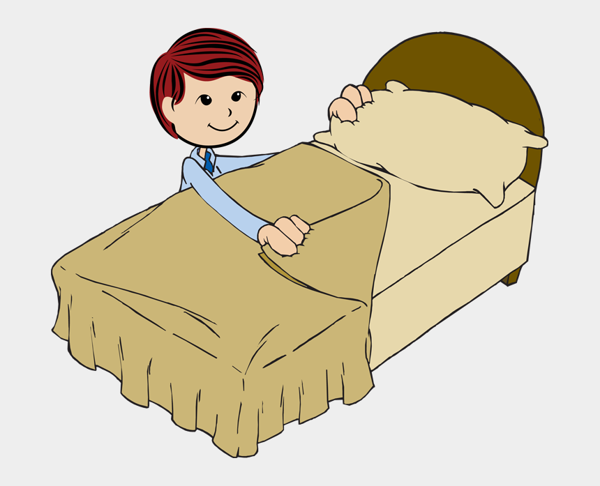 bed clip art, Cartoons - Make My Bed Clipart - Make Your Bed Cartoon