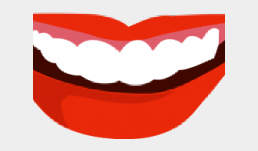 mouth clip art, Cartoons - Smiling Mouth Clipart - Mouth Vector