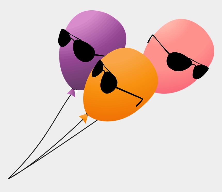 birthday balloons clip art, Cartoons - Balloon Balloons Birthday Cia Fbi Festive Fun - Funny Clipart Png