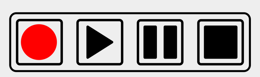 cassette tape clipart, Cartoons - Computer Icons Button Cassette Deck Media Player Tape - Radio Buttons Play Pause