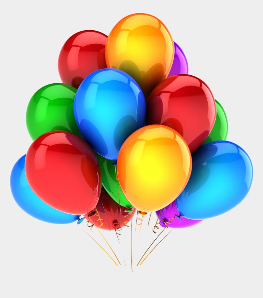 birthday balloons clip art, Cartoons - Happy Birthday Balloons Png - Balloons Download