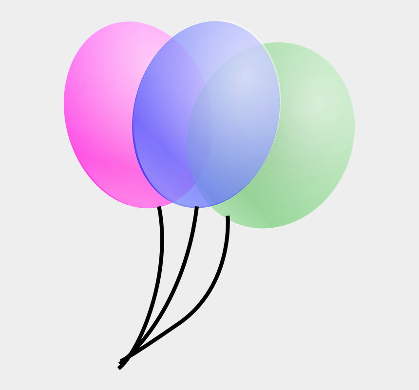 birthday balloons clip art, Cartoons - Birthday Balloons Png 23, Buy Clip Art - Balloons Clip Art