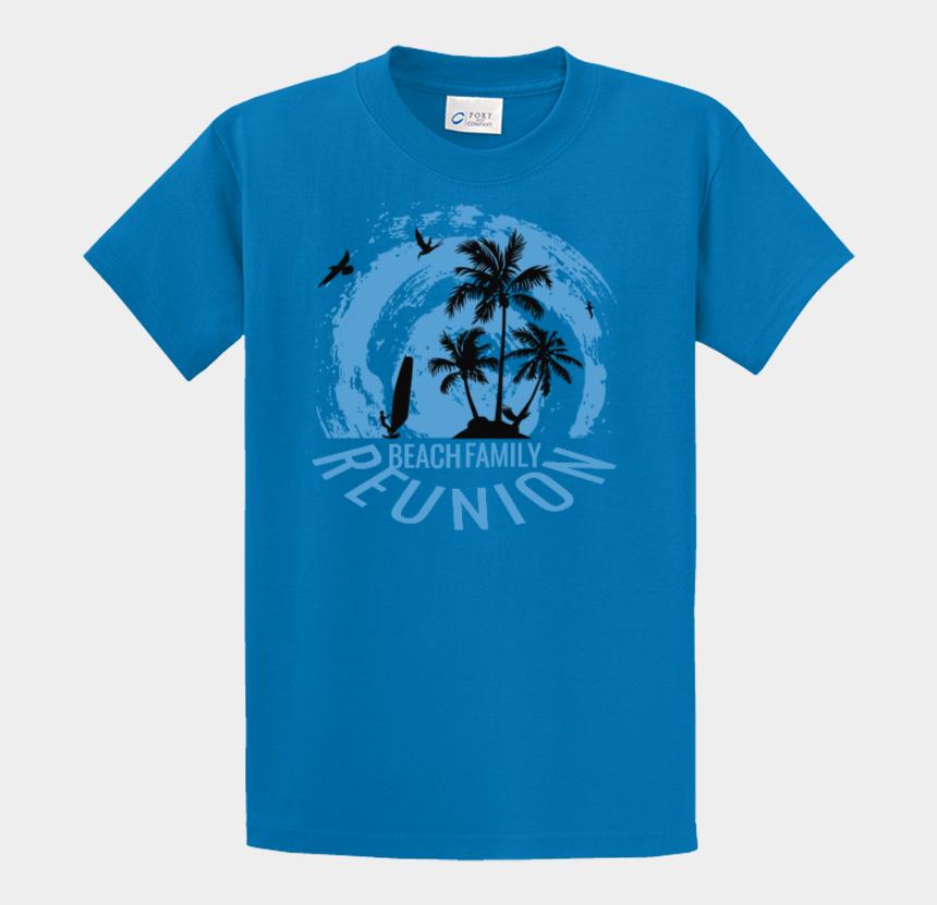 tshirt clipart, Cartoons - Clipart Beach Tshirt - Reunion T Shirt Design