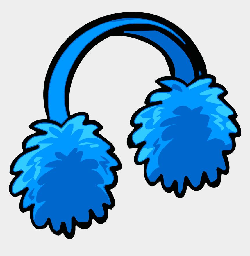 ear clip art, Cartoons - Blue Earmuffs Puffle Club Penguin Wiki Fandom Ⓒ - Clip Art Ear Muffs