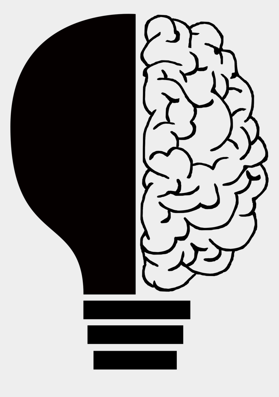 light bulb clipart, Cartoons - Brain Transparent Light Bulb - Brain Light Bulb Clipart