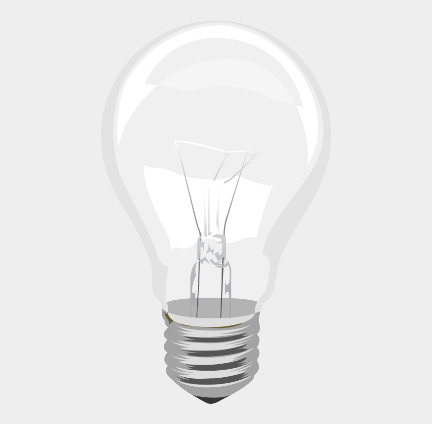 light bulb clipart, Cartoons - Incandescent Light Bulb