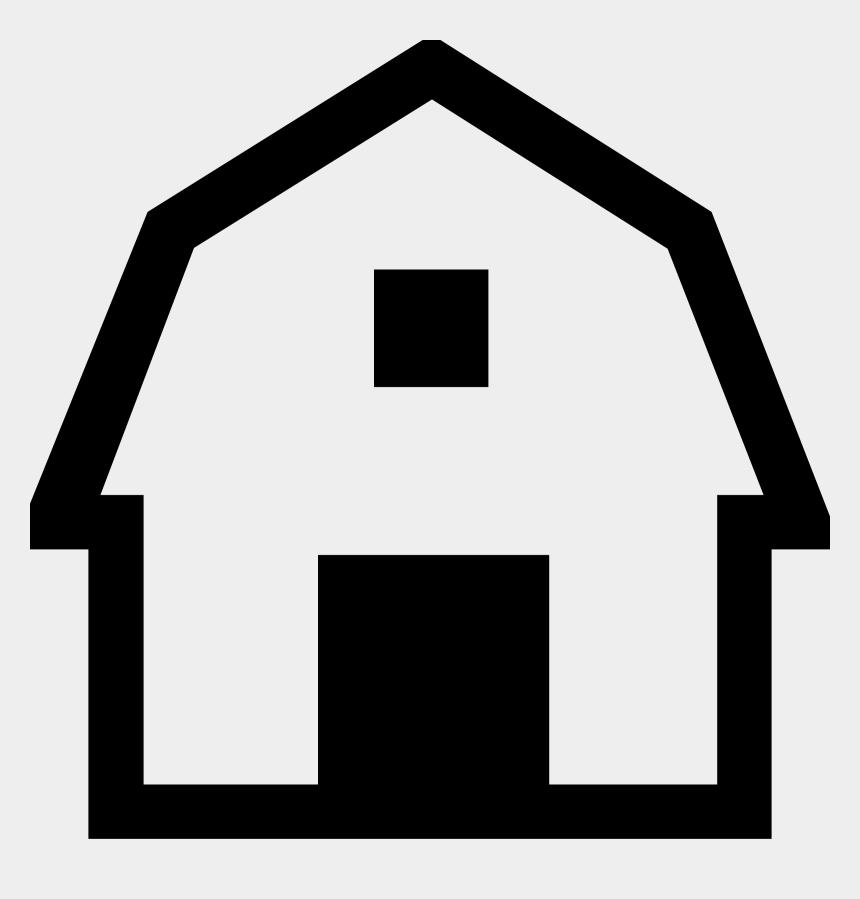 farm clip art, Cartoons - Farm Barn Clip Art Clipart Image - Simple Barn Clipart Black And White