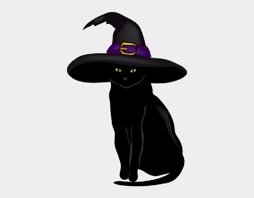 black cat clip art, Cartoons - Black Cat - Black Cat Halloween Cartoon