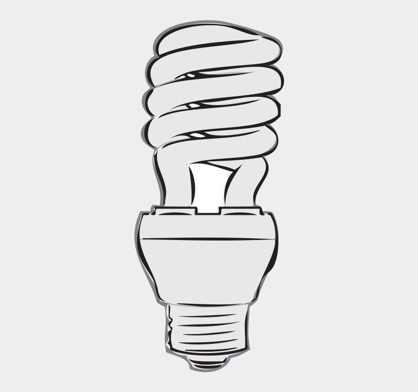 light bulb clipart, Cartoons - Incandescent Light Bulb Led Lamp Light-emitting Diode - Clipart Fluorescent Light Bulb