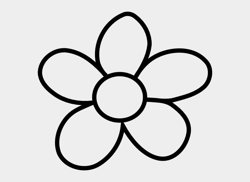 flowers clipart black and white, Cartoons - Black And White Flower Clip A - Black And White Flowers Clip Art
