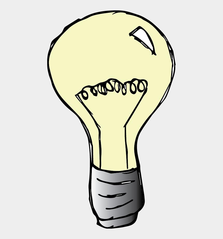 light bulb clipart, Cartoons - Light Bulb Clipart Melonheadz - Lightbulb Clip Art Melonheadz