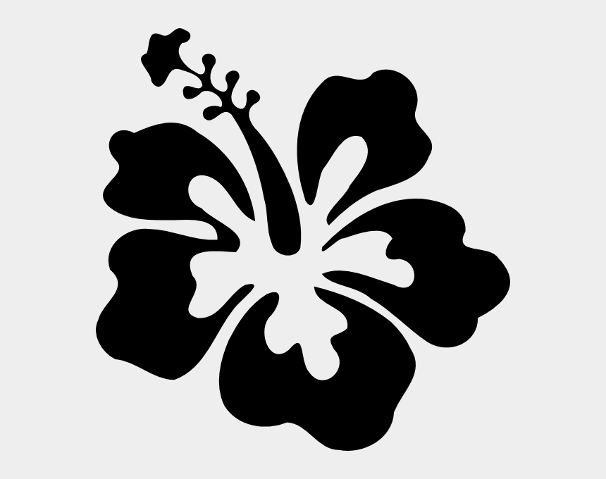 flowers clipart black and white, Cartoons - 28 Collection Of Gumamela Flower Clipart Black And - Hibiscus Flower Clipart Black And White