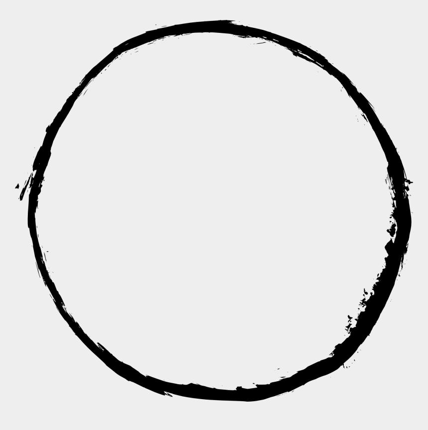 circle clip art, Cartoons - Grunge Frame - Transparent Background Circle Frame Png