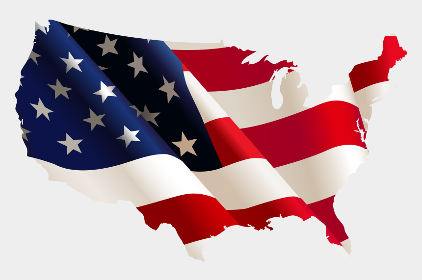 us flag clip art, Cartoons - American Flag Clipart - Us Flag Country Shape
