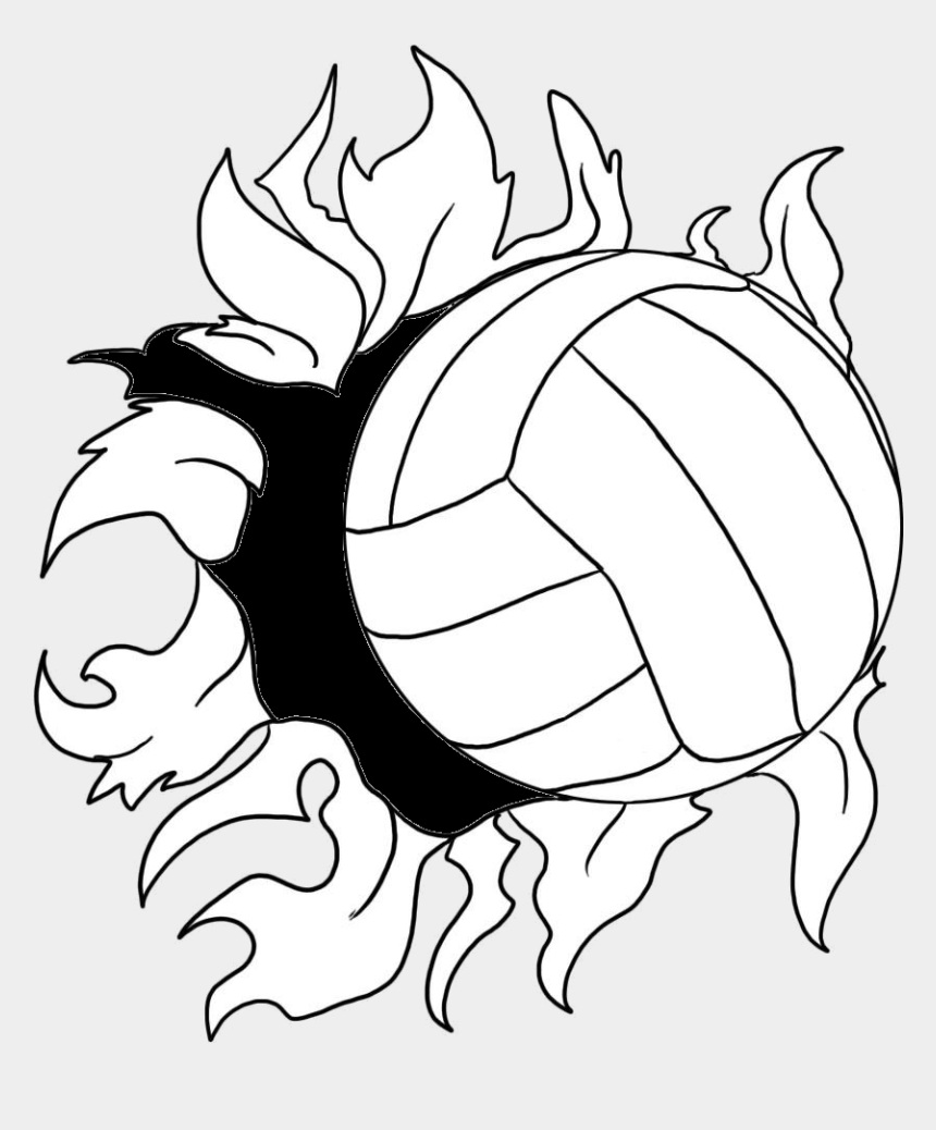 volleyball clip art, Cartoons - Beach Volleyball Clip Art - Easy Draw Sports Day