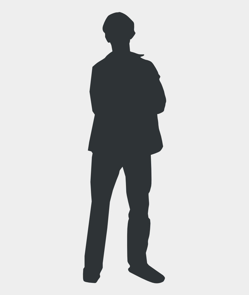 person clip art, Cartoons - Person Outline - Person Standing Clipart