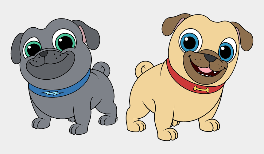 puppy clip art, Cartoons - More Television Clip Art - Puppy Dog Pals Clipart