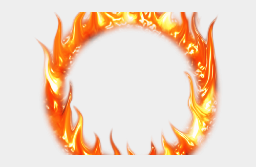 flame clip art, Cartoons - Flame Clipart Smoke - Ring Of Fire Transparent