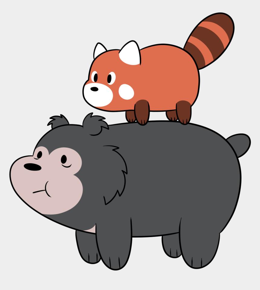 sloth clipart, Cartoons - Red Panda And Sloth Bear - We Bare Bears Red Panda