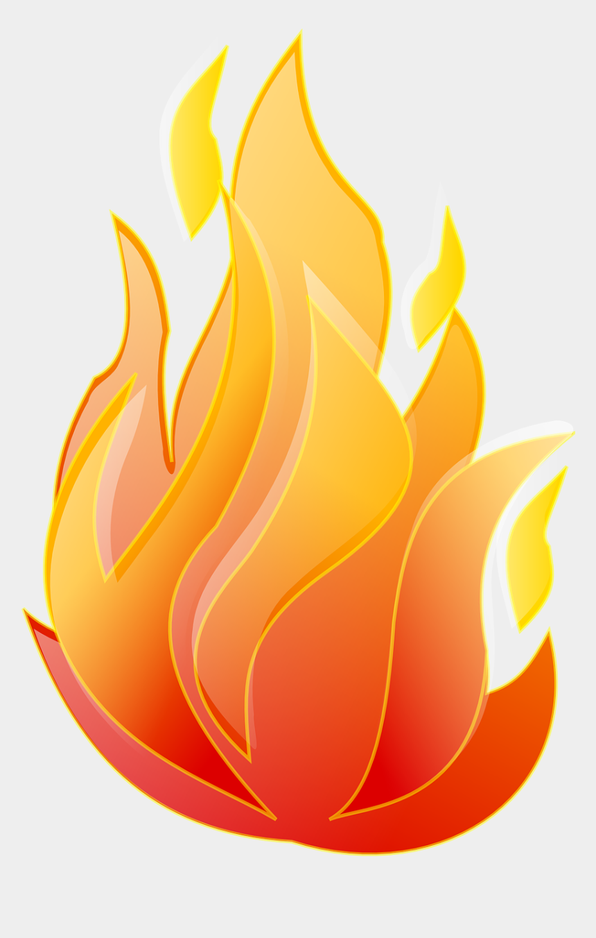 Fire clear background. Animated png transparent clip