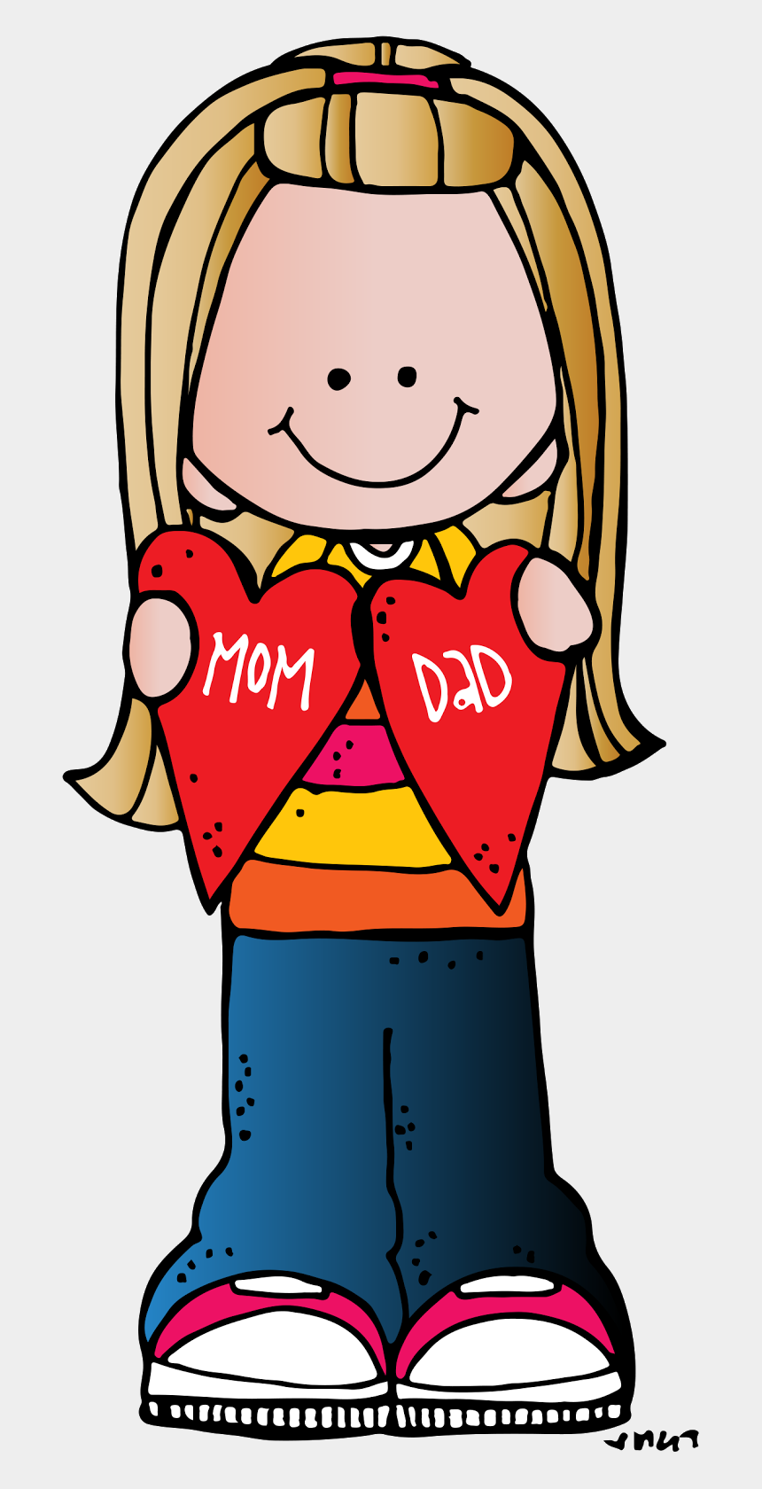 person clip art, Cartoons - Download Kindness Clipart Inspiring Person - Mothers Day Clipart Melonheadz