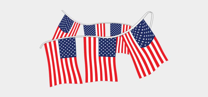 us flag clip art, Cartoons - American Flag Pennants Supreme Cloth - Flag Of The United States