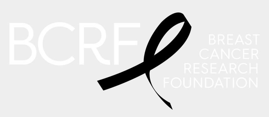 breast cancer clip art, Cartoons - Breast Cancer Research Foundation Logo Black And White - Cancer Research Foundation