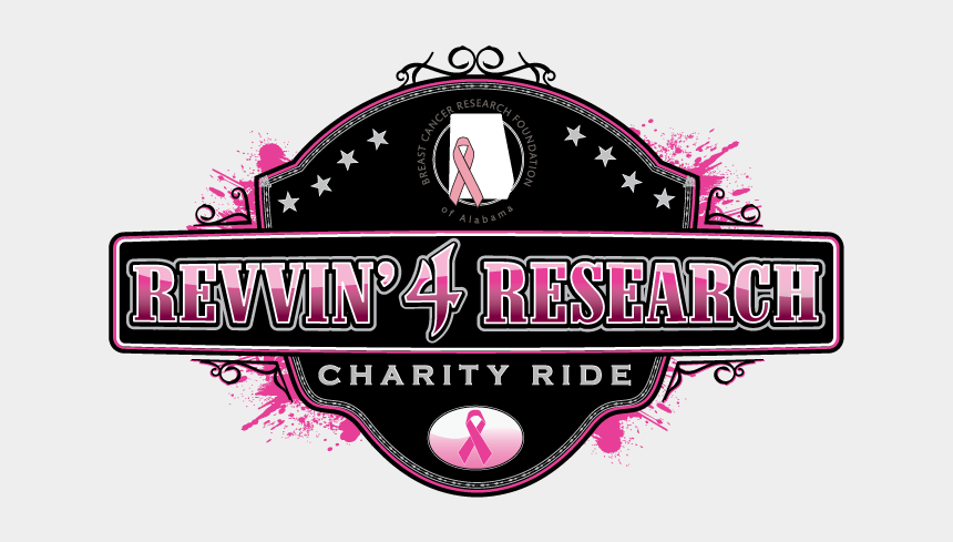 breast cancer clip art, Cartoons - Join Us For The 2017 Revvin' 4 Research, Presented - Graphic Design