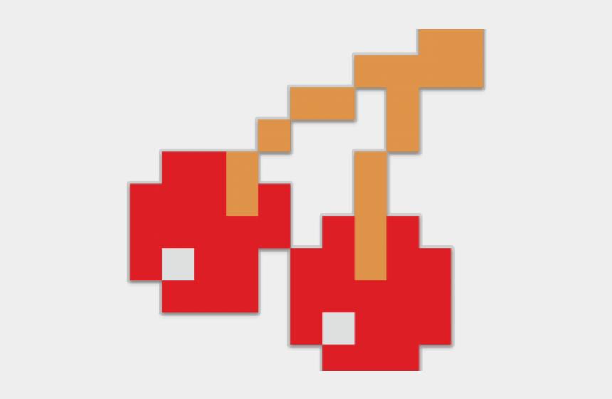 pac man clipart, Cartoons - 8 Bit Clipart Pac Man - Transparent Pacman Cherry Png