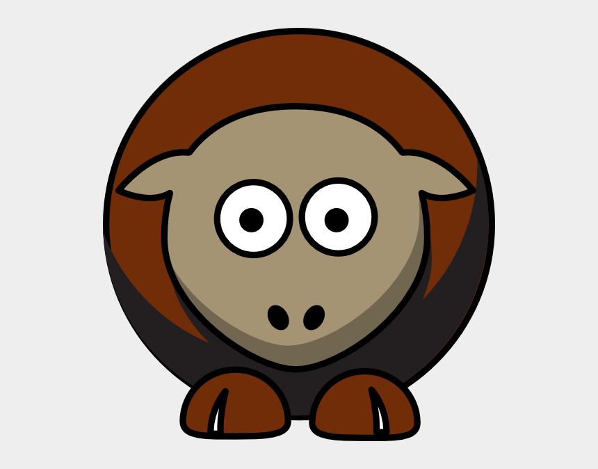 bulldogs clipart, Cartoons - Brown Sheep Clipart