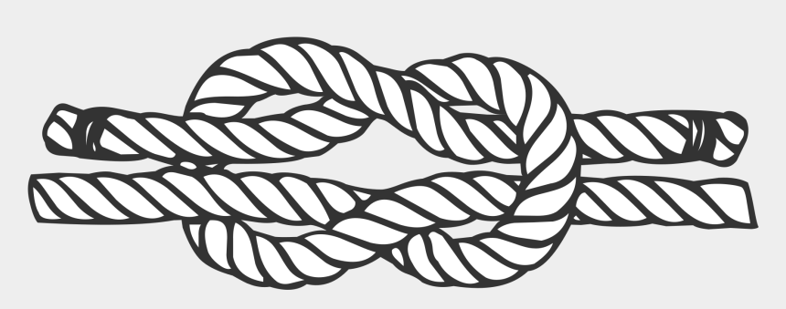 rope clipart black and white, Cartoons - File Reef Svg Wikimedia Commons Open Ⓒ - Reef Knot Black And White