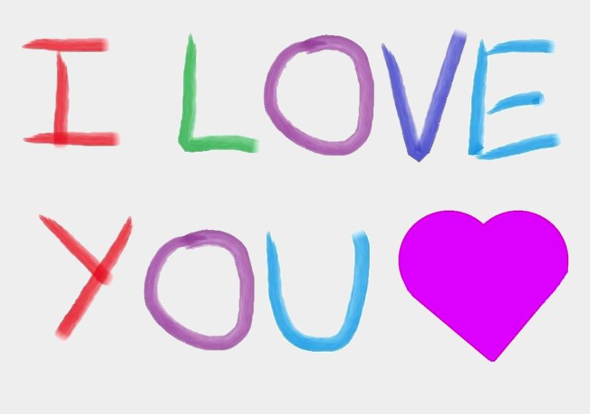 we love you clipart, Cartoons - I Heart You Clip Art - Heart